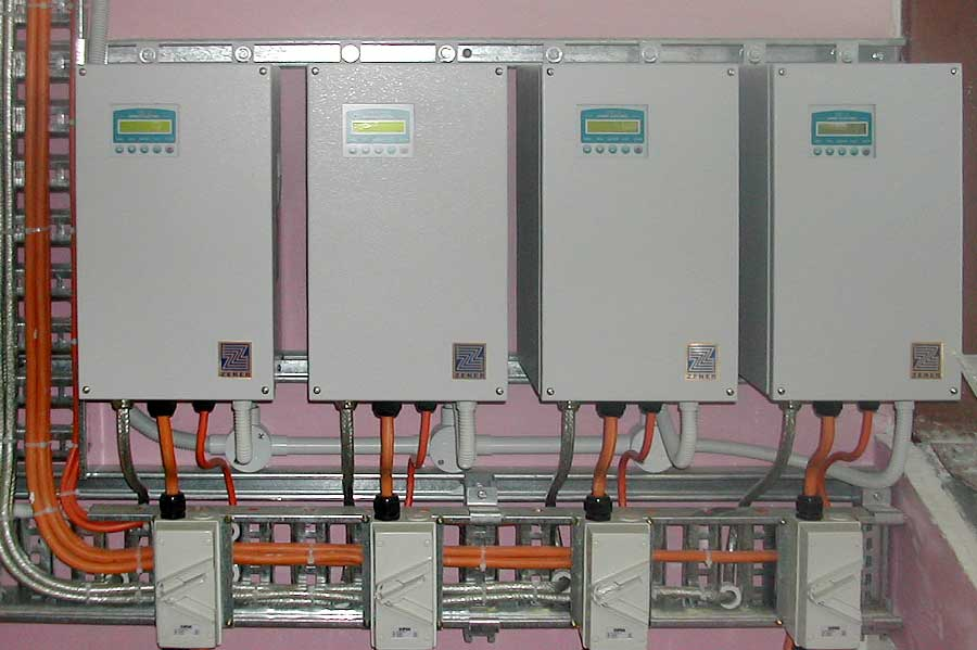 4x Modified Zener MSC-3 Speed Controllers Onsite Installation